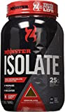 Cytosport Monster Whey Protein Shakes, Isolate Supplement Mix, Chocolate Flavored, Powder, 2.2 Pound (About 29-30 Servings)