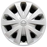 #8: OEM Genuine Nissan Wheel Cover - Professionally Refinished Like New - 15in Replacement Hubcap Fits 2012-2017 Versa