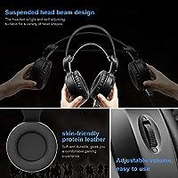 lanlan, Gaming auriculares inalámbricos Estéreo Bluetooth con ...