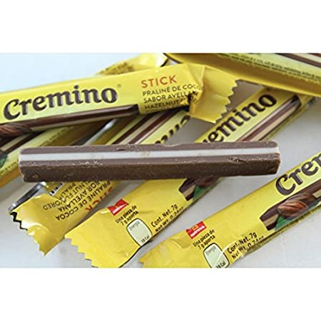 Amazon.com: Bag Of chocolate Cremino Stick 25 pcs Authentic Mexican Candy with Free Chocolate Kinder Bar Included: Toys & Games
