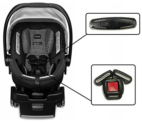 Infant Car Seat Clip (For Britax B-Safe 35 & B-Safe 35 Elite Infant Baby Car Seat Harness Chest Clip & Buckle Set)