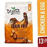 Offer your dog a grain-free option at mealtime with Purina Beyond Grain Free White Meat Chicken & Egg Recipe adult dry dog food. This recipe is made with simple, natural ingredients with added vitamins and minerals to provide a complete and balan...