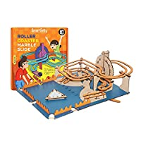Smartivity Roller Coaster Marble Slide stem, DIY, Educational, Learning, Building and Construction Toy