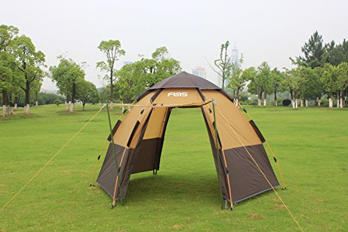 Toogh Instant Family Tent 4 Person Large Automatic Pop Up Tents for Outdoor Sports C&ing Hiking Tents : cheap hiking tents - memphite.com