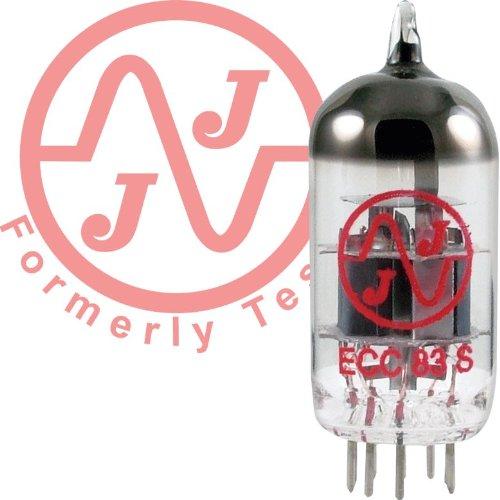 JJ Electronics Amplifier Tube (T-12AX7-S-JJ) (12ay7 Tube Microphone Preamp)