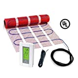 90 sqft HeatTech 120V Electric Tile Radiant Floor Heating Mat Kit