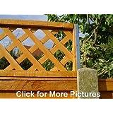 Postfix Trellis Fence Height Extension Arms Pair No