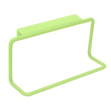 Broadroot Handtuchhalter Hängende Halter Schrank Küchenschrank Badezimmer  Tuchhalter (Grün)