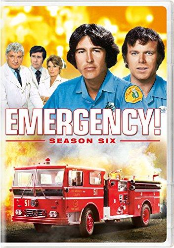 Emergency! Season Six (Emergency Dvd)