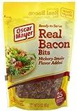 Oscar Mayer Real Bacon Bits, Hickory Smoke Flavor 3 Oz (Pack of 4) by Oscar Mayer