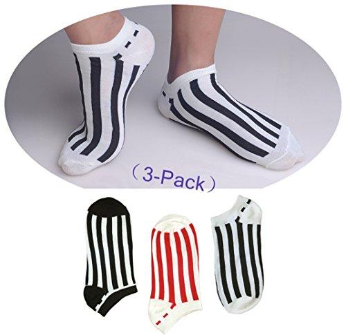 Designer Young Socks (3 Pair) #GQ4216 KI320U20 (Mad Teenies)