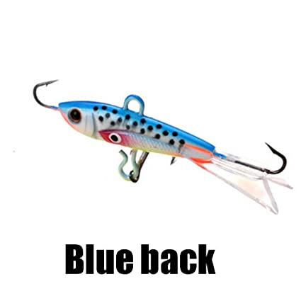 High Quality Balancer Walleye Hard Ice Fishing Lure Hook AD-Sharp  Winter Bait