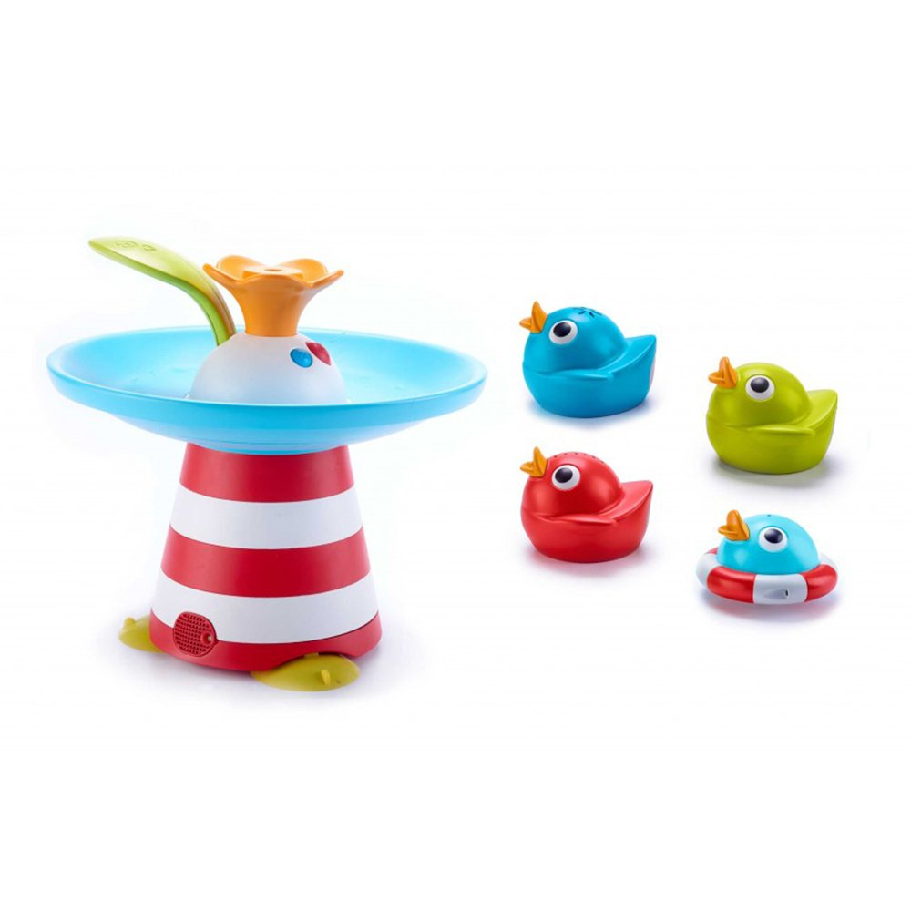 Amazon Com Baby Bath Toy Stack N Spray Bathub