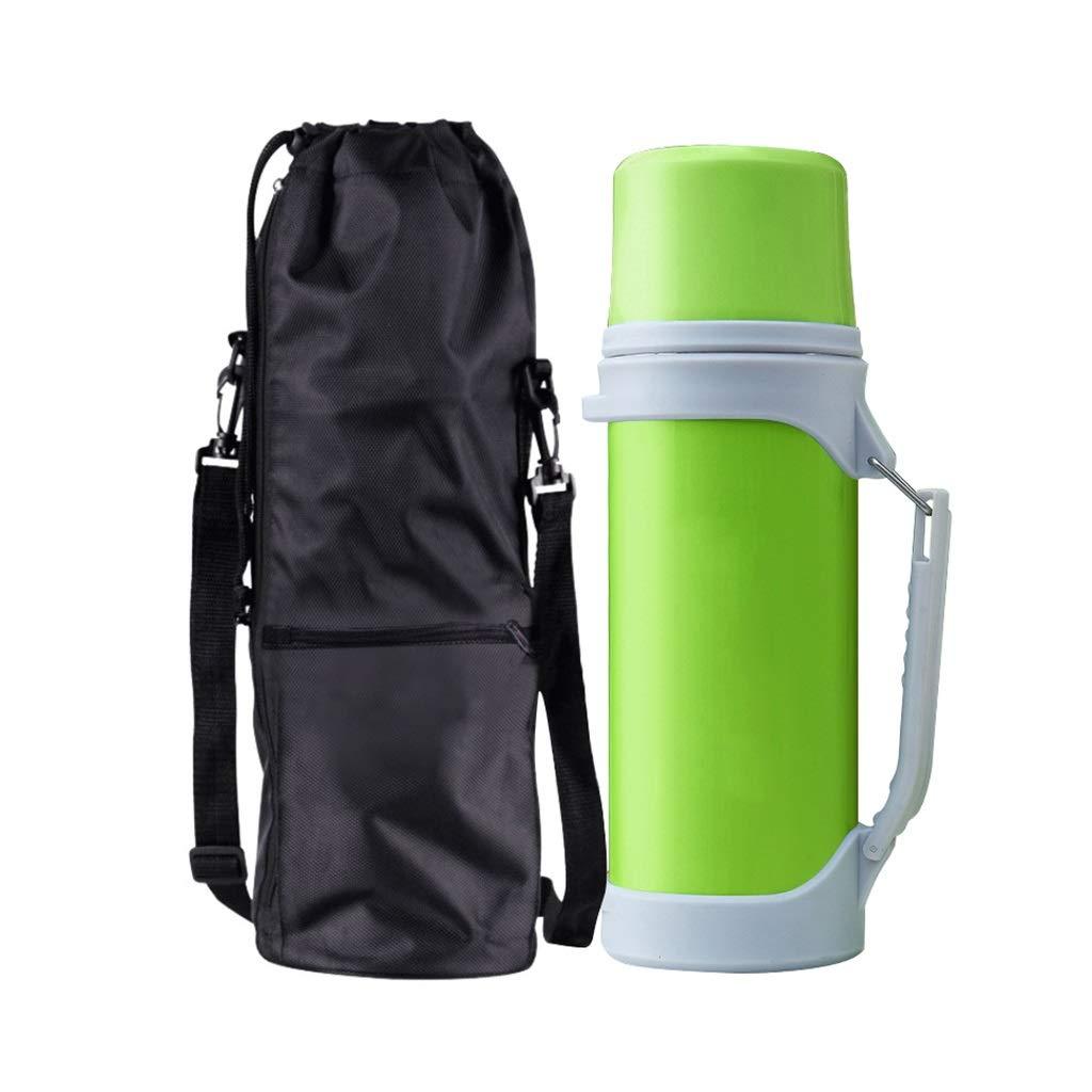 FYCZ Thermoskannen 1.5L, Haushalt Große Kapazität Heißwasser 304 Edelstahl Outdoor Travel Cup Isolierung Wasserkocher Topf L1
