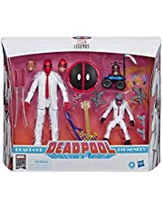 "Marvel Comics 80th Anniversary Legends Series 6""-Scale Vintage Comic-Inspired Deadpool & Hit-Monkey Collectible Action Figure 2 Pack"