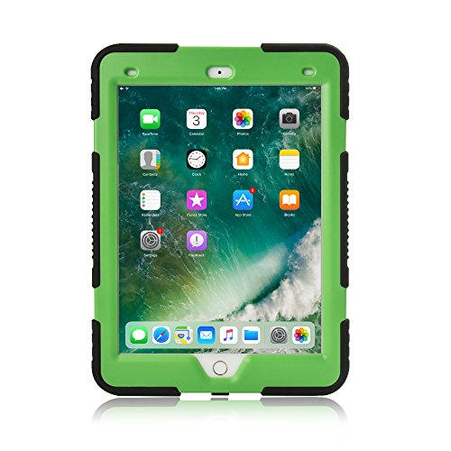 iPad Mini 4 Case, KIDSPR New Design Rainproof Dirtproof Shockproof Cover Case With Kickstand and Extreme Heavy Duty Stand Super Protection for Apple iPad Mini 4 (iPad Mini 4, Black ()