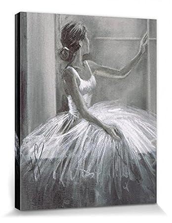 Blick aus dem fenster poster  1art1 69366 Ballett - Ballerina, Blick Aus Dem Fenster, Hazel ...