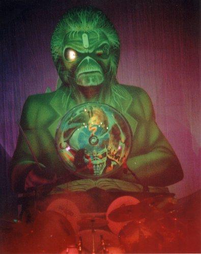 Iron Maiden Eddie Poster Photo Heavy Metal Music Posters