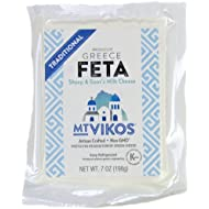 Feta Cheese, Mt Vikos, 7 oz. (4 pack)