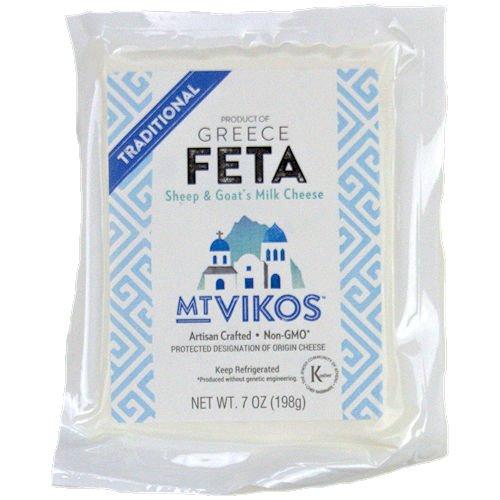 Feta Cheese, Mt Vikos, 7 oz. (4 pack) ()