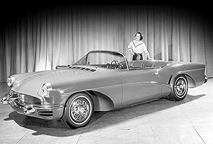 Amazon Com 1955 Buick Wildcat Ii Concept Car Promotional Photo