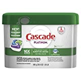 Health & Personal Care : Cascade Platinum ActionPacs Dishwasher Detergent, Fresh, 36 count (Packaging May Vary)