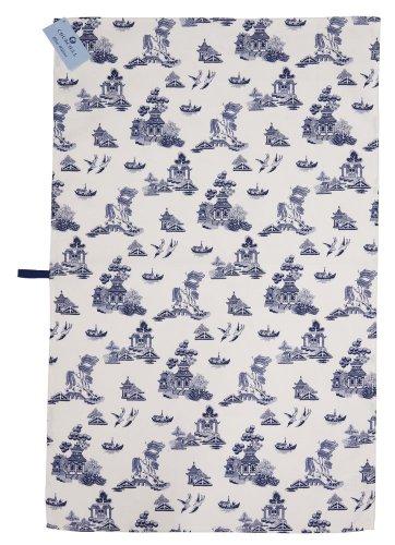 Churchill Blue Willow Dish Cloth
