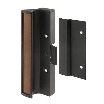 Amazon Crl Black Clamp Style Surface Mount Sliding Glass Door