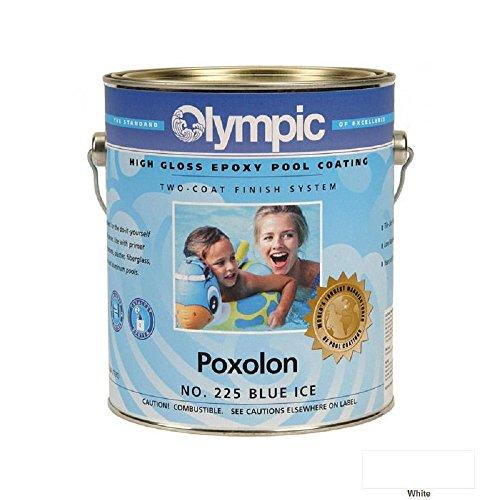 - Kelley Technical 2222GL Olympic Poxolon 2 Epoxy Pool Coating - White