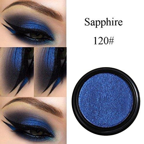 (HP95(TM) PHOERA Eyeshadow Glitter Shimmering Colors Bright Metallic Eye Makeup Cosmetic (T))