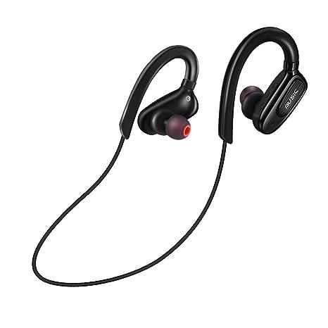 Auricular Bluetooth Deportivo, Cascos Bluetooth Running Correr Resistente al Sudor Deep Bass Inalámbrico Manos Libre