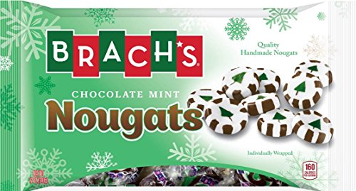 Brach's Nougats Candy, Chocolate and Mint, 11 Ounce (Pack of 12)
