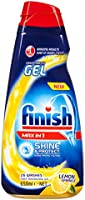 Finish Max in One Gel Glass Protect Dishwashing Liquid, Lemon, 22.1 fl. oz