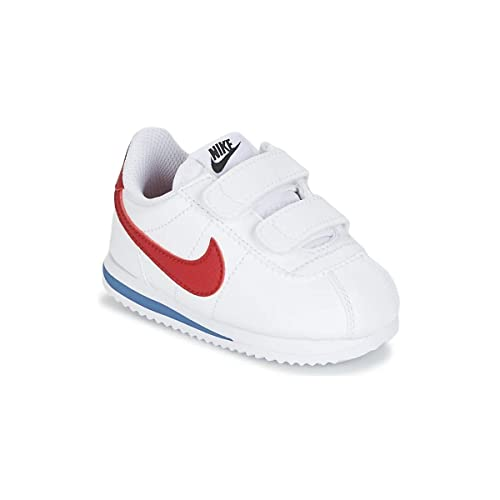 Nike Cortez Basic SL (TDV), Zapatillas de Estar por casa Bebé Unisex, Blanco (White Red/Varsity Royal/Black 103), 17 EU: Amazon.es: Zapatos y complementos