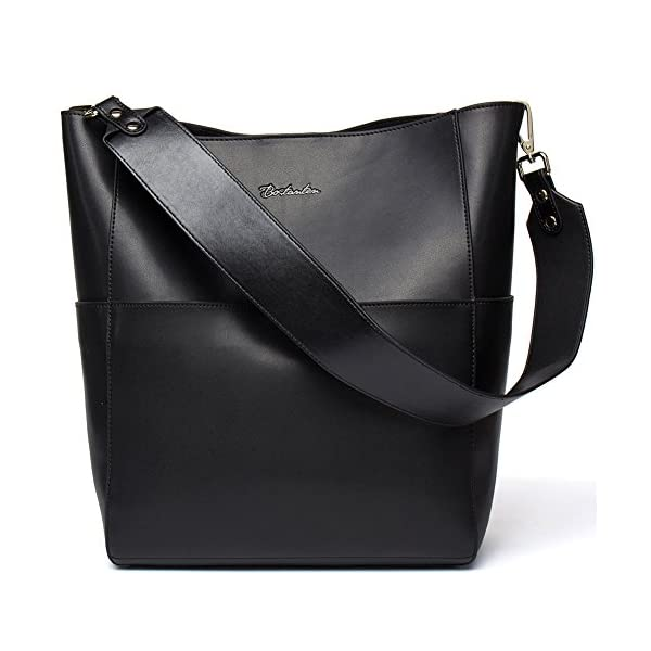 BOSTANTEN-Womens-Leather-Designer-Handbags-Tote-Purses-Shoulder-Bucket-Bags