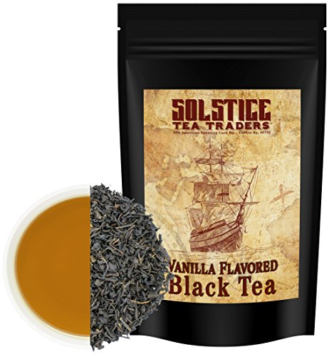 (Loose Leaf Vanilla Black Tea (8-Ounce Bulk Bag); Makes 100+ Cups of Tea)