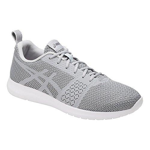 Asics Kanmei, Zapatillas de Entrenamiento para Hombre Gris (Mid Grey/mid Grey/carbon)