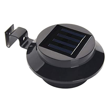 Farolas Solares, Las Más Recientes 3 LED Valla Exterior Luz Impermeable Lámparas De Pared para