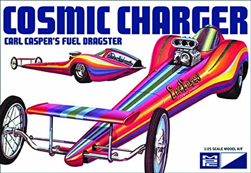MPC, Cosmic Charger, Carl Caspers Fuel Dragster, 1/25 Scale Model Car Kit, MPC826 (Carl Fireplace)
