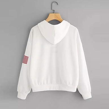 Damska bluza z kapturem, długie rękawy, bluza z kapturem, oversize, sweter, elegancka bluza z nadrukiem, bluza z kapturem, długa bluza na jesień, zimę: Odzież