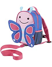 Skip Hop Zoo Let Mini Backpack with Rein, Butterfly