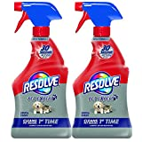 Resolve Pet Stain Remover Carpet Cleaner, 22 oz 2-Pack