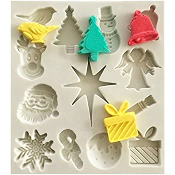 Ornaments Large Chocolate Mould or Christmas Ornaments Soap Mould