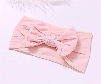 Amazon.com   Wide Nylon Bow Headband With Pompom Trim caad184a001