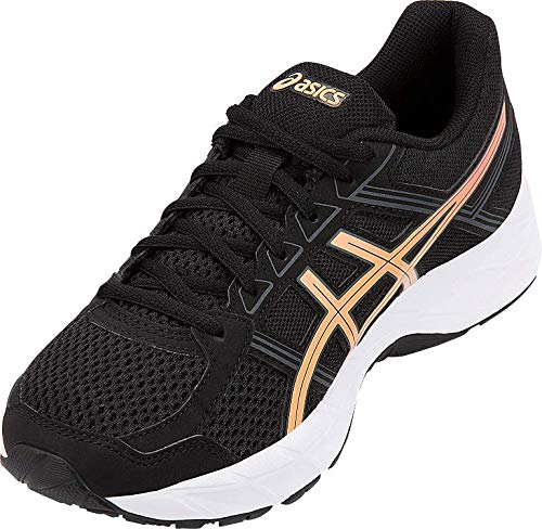 ASICS Gel-Contend 4 Women's Running Shoe, Black/Apricot Ice/Carbon, 5 M US by ASICS (Image #3)