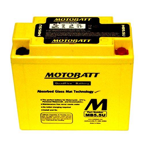 NEW MotoBatt Battery For Vespa P125X P150X P200E PX125 PX150 PX200 Scooters by DISCOUNT STARTER & ALTERNATOR