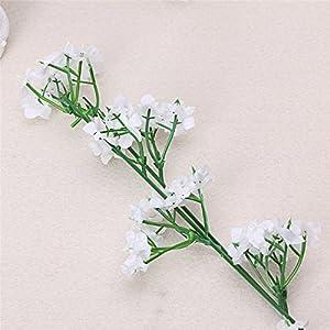 JAGENIE 1 Head Romantic Baby's Breath Gypsophila Silk Flower Party Wedding Home Decoration 53