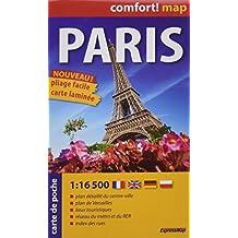 PARIS 1/16 500  (CARTE POCHE LAMINEE)