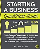 Starting a Business QuickStart Guide: The