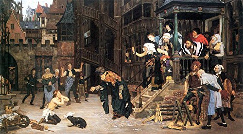 The Museum Outlet - The return of the prodigal son by Tissot - Canvas Print Online Buy (30 X 40 Inch)]()
